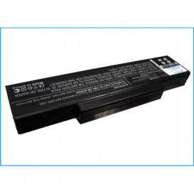Batterie ASmobile 4400mAh/48.84Wh 11,1V compatible AS62FM945GM1, AS62FP945GM1, AS62J945PM1, AS62JM945PM1, AS96F945GM1, AS96H6