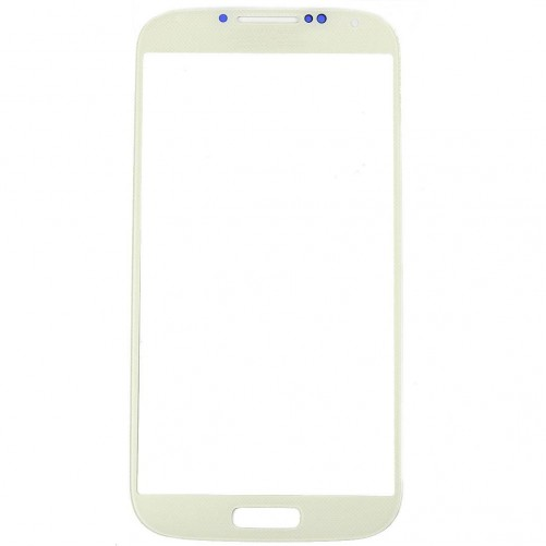 Vitre Tactile Blanche + Stickers - Samsung Galaxy S4