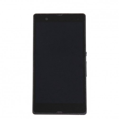 Complete Screen Assembly BLACK (LCD + Touchscreen/Frame) - Xperia Z