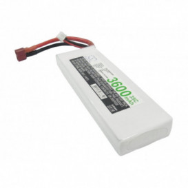 Batterie RC Li-Polymer 3600mAh 7,4V compatible LP3602C35RT