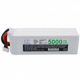 Batterie RC Li-Polymer 5000mAh 14,8V compatible LP5004C35RT