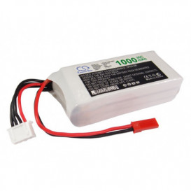 Batterie RC Li-Polymer 1000mAh 11,1V compatible LP1003C30RT