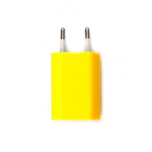 Chargeur iPhone Jaune
