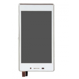 Screen WHITE (without frame) - Xperia M2