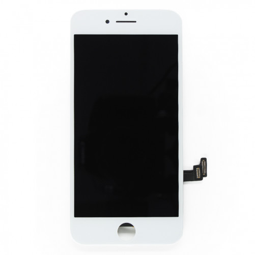 Complete Screen with small parts WHITE - iPhone 8