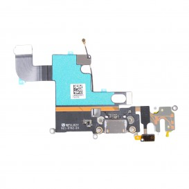 Dock connector + Headphone jack + GSM antenna + Microphone - iPhone 6