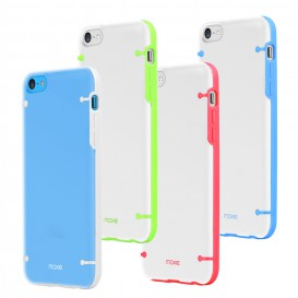 Moxie Plexiglas Coloured Contours case - iPhone 5C