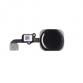 Black home button + cable - iPhone 6