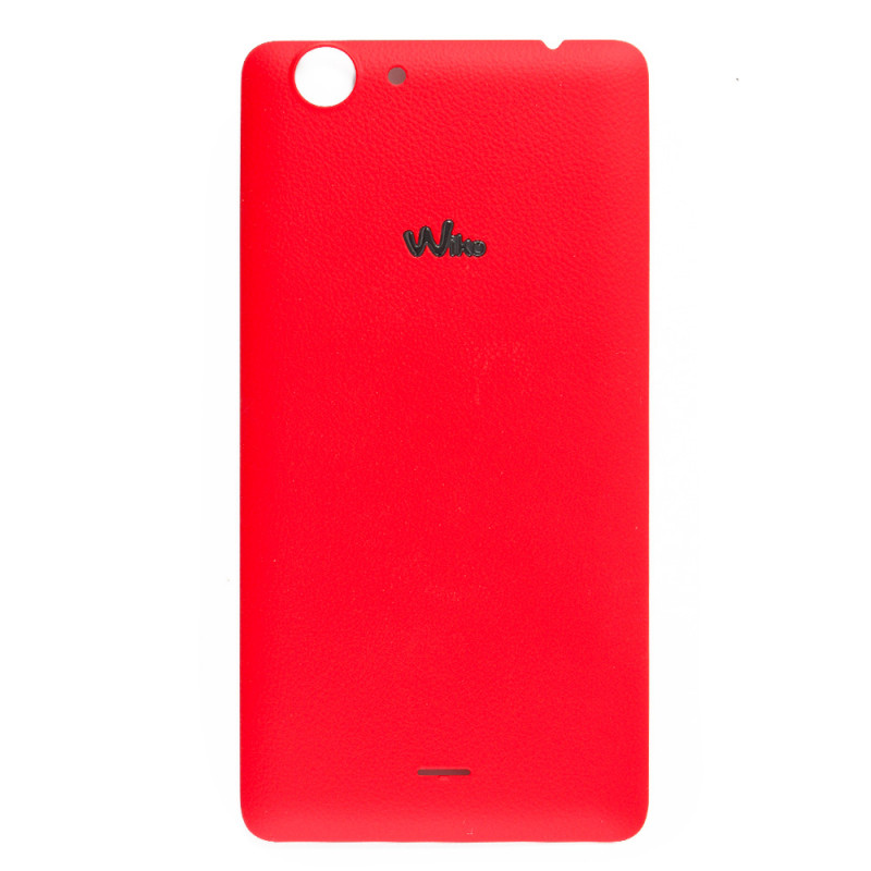 Red back cover (official) - Wiko Pulp Fab 4G Pulp Fab 4G - SOSav ...