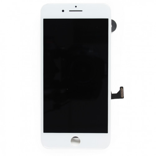 Complete Screen with small parts WHITE - iPhone 7 Plus