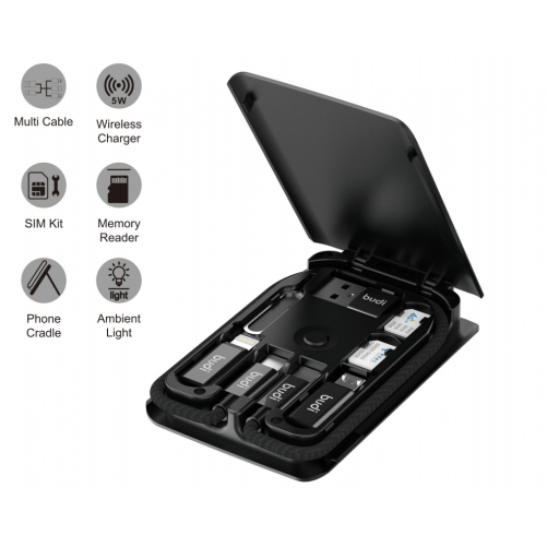 Multifunctional induction charger