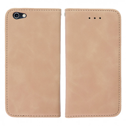 BEIGE faux leather case - iPhone 6S