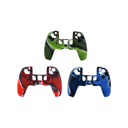 Coque protection silicone graphique manette DualSens compatible PS5