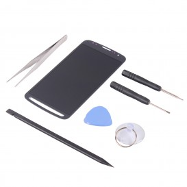 Kit de réparation Ecran LCD + Tactile Gris - Galaxy S4 Active