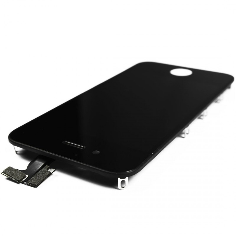 Ecran noir pour iphone 4s tactile lcd for Ecran photo iphone noir