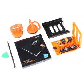 Kit SSD (SSD 512 Go Samsung + adaptateur + ventouses/outils) - iMac