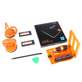 Kit nouvelle vie (SSD Samsung 512 Go + 2 x 8 Go RAM Hynix + outils)