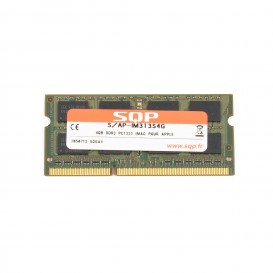 Kit 2 x 4 Go RAM SQP SoDimm DDR3 1333 MHz PC3-10600