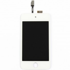 White Touch Screen + LCD Screen - iPod Touch 4G
