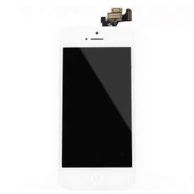 Complete Screen Assembly WHITE - iPhone 5