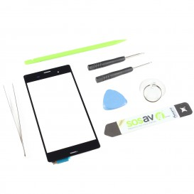 DIY Touch Screen Repair Kit (black) - Sony Xperia Z3 Compact
