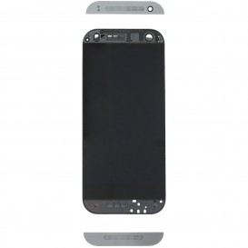 Complete Screen Assembly BLACK (LCD + Touchscreen + Frame) - HTC One Mini 2