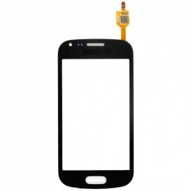 Touch screen (black) + Stickers  - Samsung Galaxy S Duos