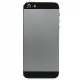 Black Pre-Assembled Rear Frame - iPhone 5