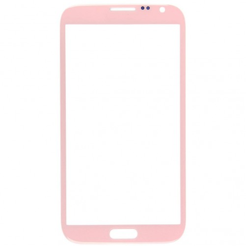Vitre Rose + stickers - Samsung Galaxy Note 2