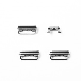 Set of 4 black buttons (Volume, power, vibrate ring switch) - iPhone 6S