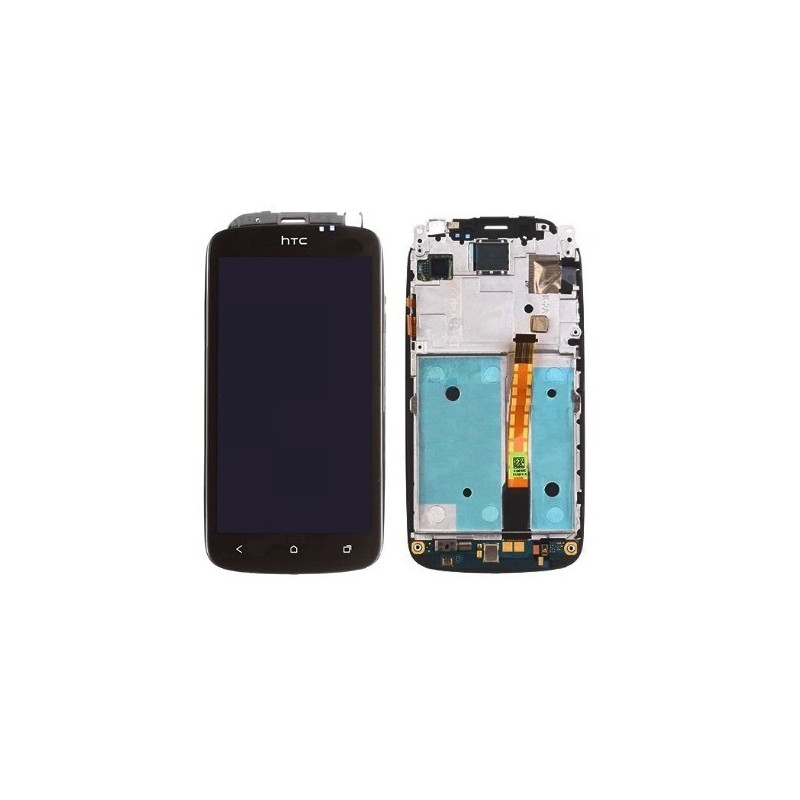Ecran complet lcd tactile ch ssis htc one s sosav for Photo ecran htc