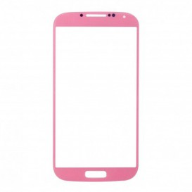 Vitre Rose + Stickers - Samsung Galaxy S4