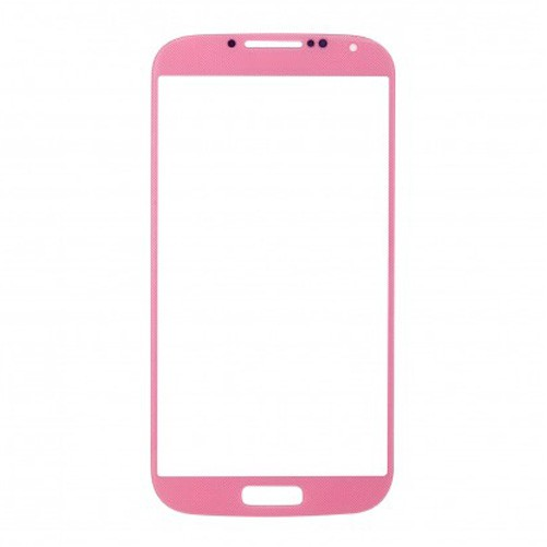 Vitre tactile Rose + Stickers - Samsung Galaxy S4