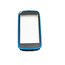 Touch screen (blue) + Frame - Lumia 610