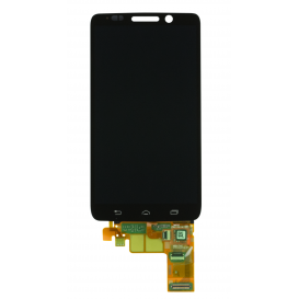 Complete Screen Assembly BLACK (LCD + Touchscreen) - Droid Mini