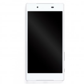 Complete Display Assembly (white) - LCD + Touch screen + Frame - Sony Xperia Z5