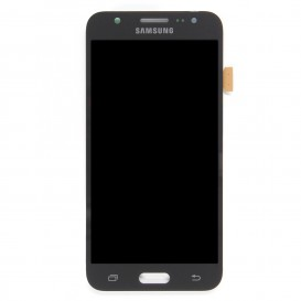 Complete Screen BLACK (LCD + Touchscreen + Frame) (Official) - Galaxy J5