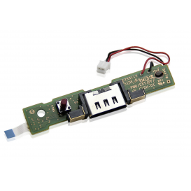 Power supply/Charging port with PCB - Wii U