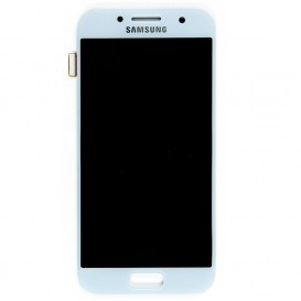 Complete Screen Assembly BLUE (Official) - Galaxy A3 (2017)