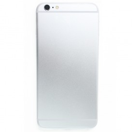 Silver Rear Panel (No logo) - iPhone 6 Plus