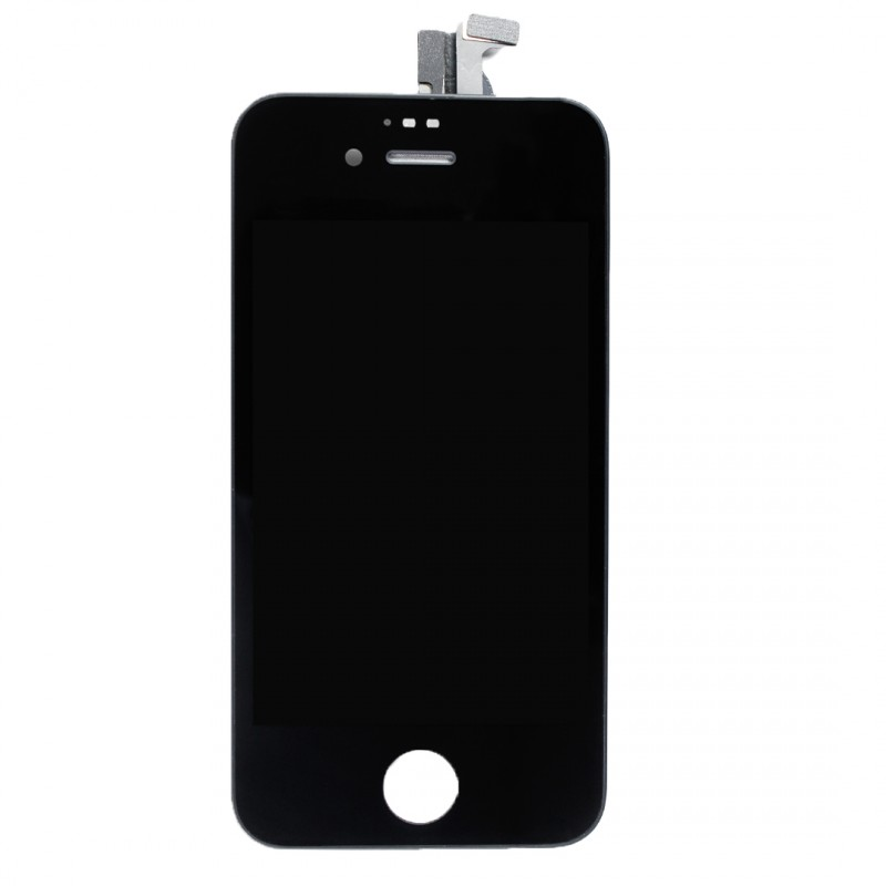 Ecran iphone 4 noir vitre tactile lcd for Ecran photo iphone noir