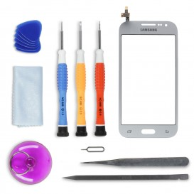DIY Touch Screen Repair Kit (silver) - Galaxy Core Prime Value Edition
