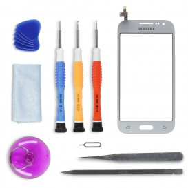 DIY Touch Screen Repair Kit (silver) - Galaxy Core Prime