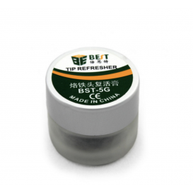 Cleaning paste for soldering iron