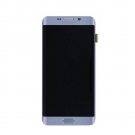 Ecran complet Argent (LCD + Tactile + Châssis) (Officiel) - Galaxy S6 Edge Plus