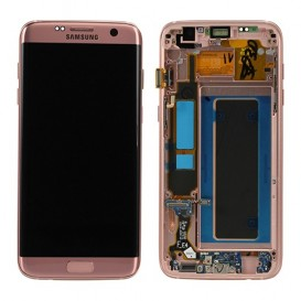 Complete Screen ROSE GOLD (Official)  - Galaxy S7 Edge