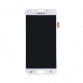 Complete Screen WHITE (LCD + touchscreen + Frame) (Official) - Galaxy J5