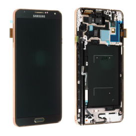 LCD + Touch screen BLACK/GOLD (Official) - Galaxy Note 3