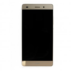 Complete Screen Assembly GOLD (LCD + Touchscreen) (Official) - Huawei P8 Lite