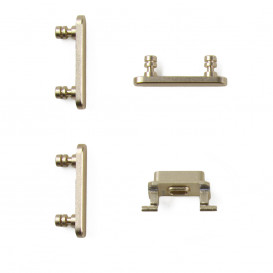 Pack of buttons (power, vibrator, mute) GOLD - iPhone 7